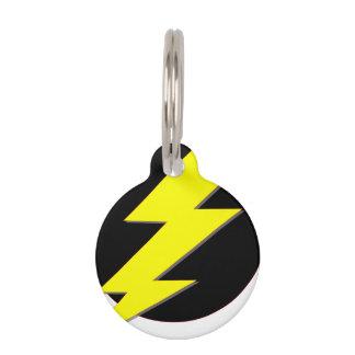 Circle of Lightning Pet Nametag