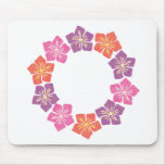 Circle of Lillies Mouse Pads
