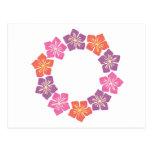 Circle of Lillies Postcard