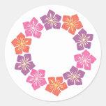 Circle of Lillies Sticker