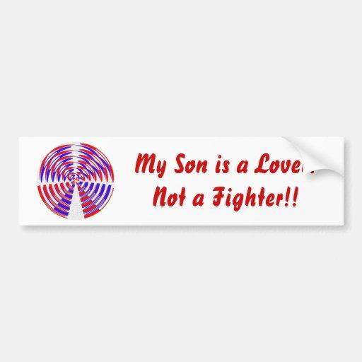 Circle of Love Car Bumper Sticker