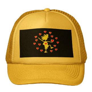 Circle of Love Trucker Hat