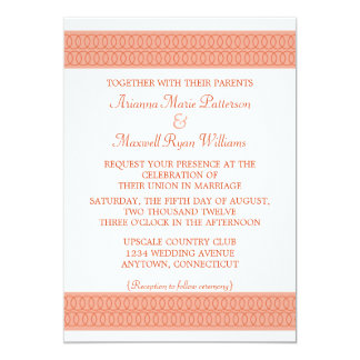 Circle of Love Wedding Invitation