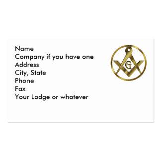 Circle of Masons Business Card
