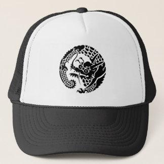 Circle of Nichiren sect dragon Trucker Hat