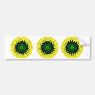 Circle of Patterns! Car Bumper Sticker