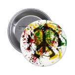 Circle of Peace Paint 2 Inch Round Button