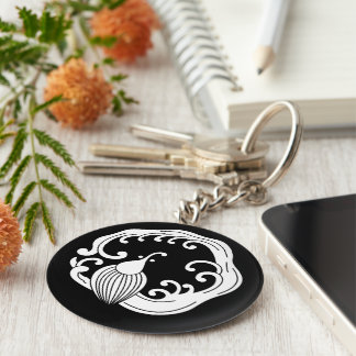 Circle of rainy dragon keychain