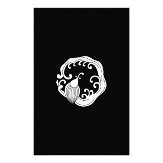 Circle of rainy dragon stationery