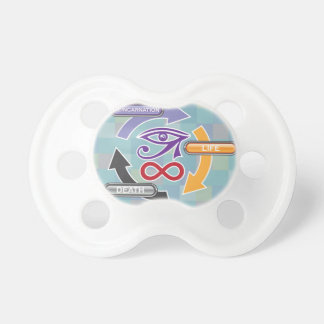 Circle of Reincarnation Life and Death Pacifier