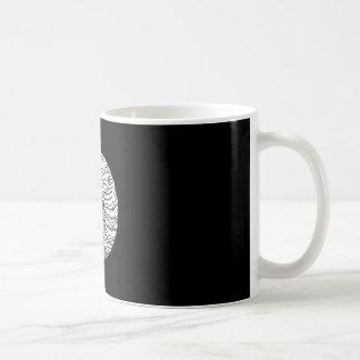 Circle of shrimp coffee mug