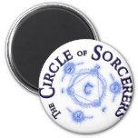 Circle of Sorcerers Gear Fridge Magnets