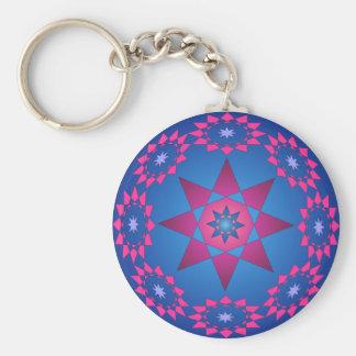 Circle of stars keychain