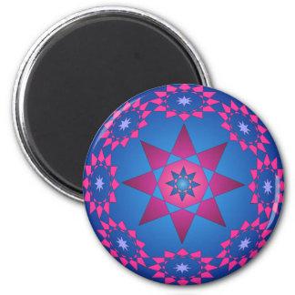 Circle of stars magnet