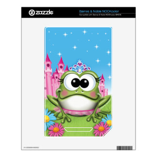 Circle of Sunshine™ Princess Frog Decal For NOOK Color