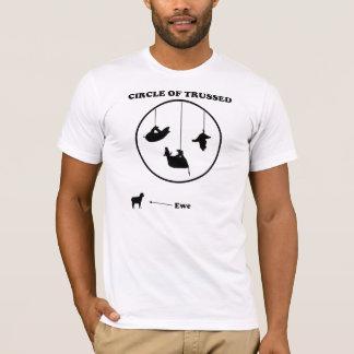 Circle of Trussed / Trust Wordplay T-Shirt
