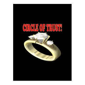 Circle Of Trust Postcard