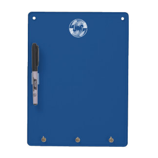 Circle of two head-to-tail rice plants dry erase board