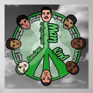 "Circle of Unity (12"" x 12"") Poster"