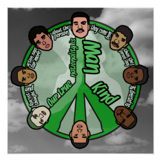 "Circle of Unity (18"" x 18"") Poster"