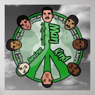 "Circle of Unity (24"" x 24"") Poster"