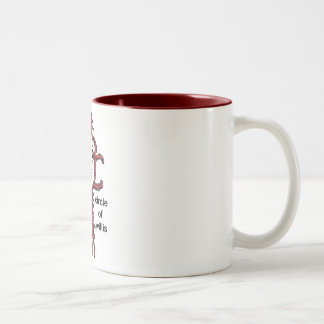 Circle of Willis Two-Tone Coffee Mug
