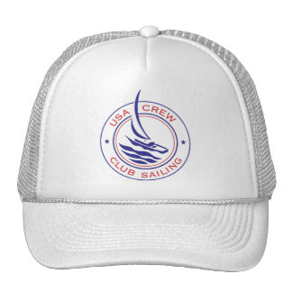Circle Patch_USA Crew Club Sailing hat
