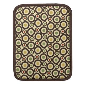 Circle Pattern Background iPad Sleeves