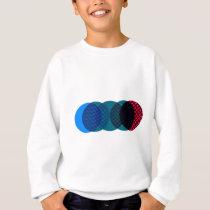 Circle Pattern Sweatshirt