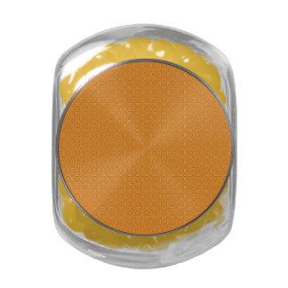 Circle Pattern tins & jars Glass Jars