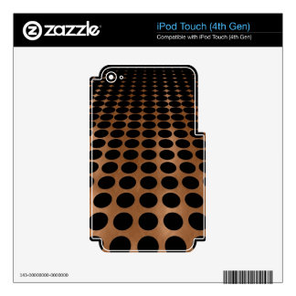 Circle Pattern with Perspective Skins For iPod Touch 4G