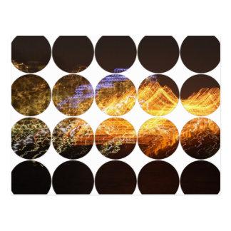 Circle Photo Postcard