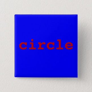 circle pinback button