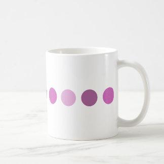 circle-pink coffee mug