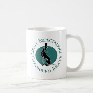 Circle Pip Classic White Coffee Mug