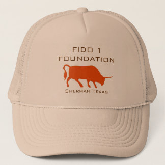 circle.pl, Sherman Texas, FIDO 1 FOUNDATION Trucker Hat