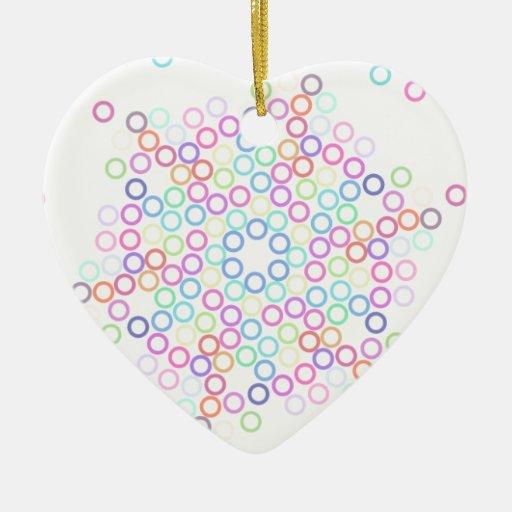 circle.png adorno de cerámica en forma de corazón