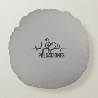 Circle pulsations round pillow