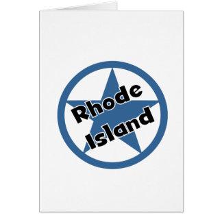 Circle Rhodeisland Greeting Card