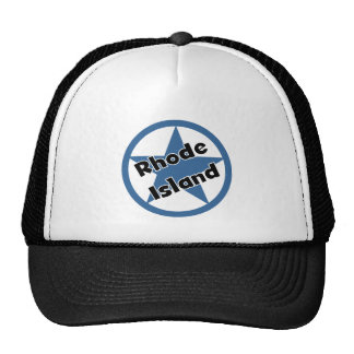 Circle Rhodeisland Trucker Hat