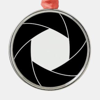 Circle Ring Design Metal Ornament
