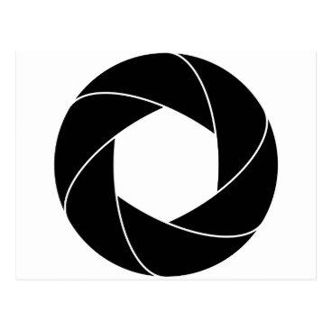 inaayastore Circle Ring Design Postcard