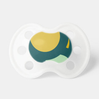 circle shape round shape pacifier