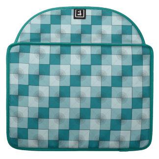 "Circle-Squares 15"" Macbook Pro Sleeve"