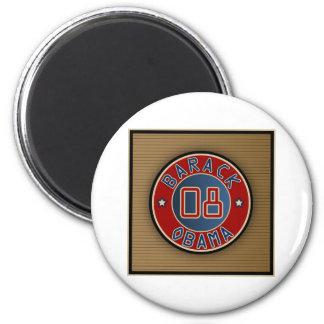 Circle Star Obama 2 Inch Round Magnet