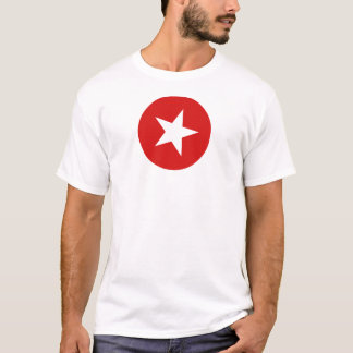 Circle Star Red I T-Shirt