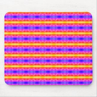 Circle Stripes Mouse Pad
