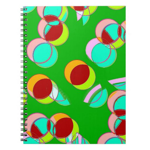 Circle Strong Spiral Note Books