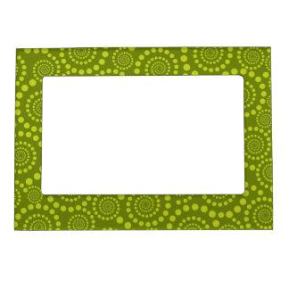 Circle Twirls custom picture frame