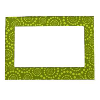 Circle Twirls custom picture frame Magnetic Picture Frame
